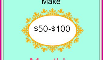 Bloggers: Make up to $100 a Month (no sales required)