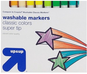 Target – Stock Up Price on Up&Up Markers