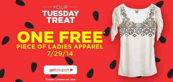 *TODAY ONLY* FREE Womans Clothing From Sears Outlet