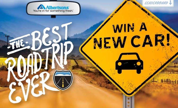 Albertson's Best Road Trip Ever Giveaway #HugeSale