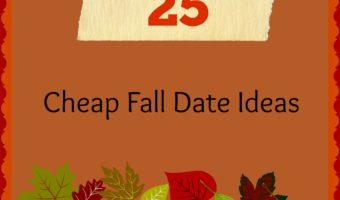 25 Cheap Fall Date Ideas