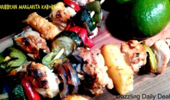 Caribbean Margarita Kabobs with Foster Farm Chicken