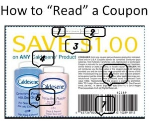 How To Read A Coupon~~