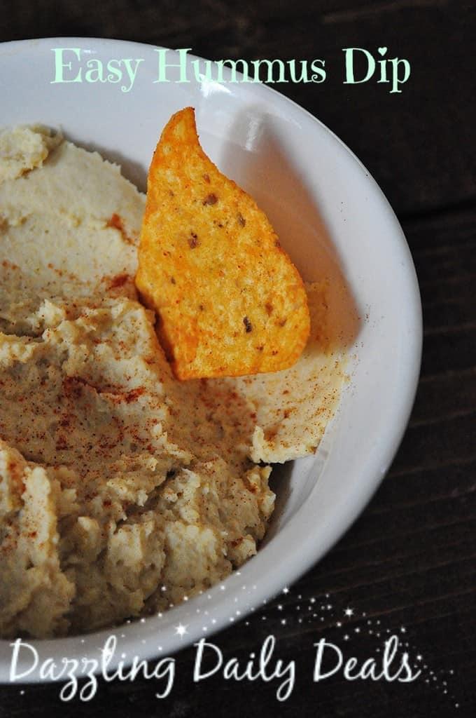 Easy Hummus Dip