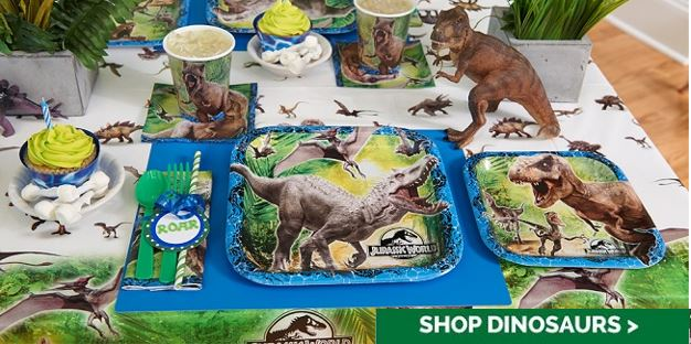 Celebrate the Jurassic World Movie with a Themed Party