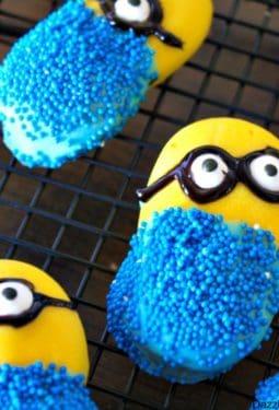 Easy Minions Cookies – #minions #minions3