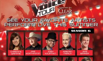Win 2 Tickets To See The Voice Tour