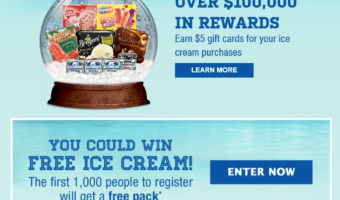 HURRY – Safeway is Giving Away 1,000 FREE Boxes of Ice Cream!!