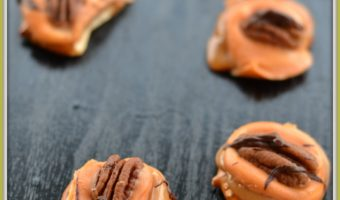 Easy Pumpkin Spice Turtles