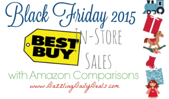 Best Buy Black Friday Match-ups With Amazon Comparables