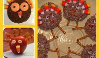 Thanksgiving Turkey Treats For Kids