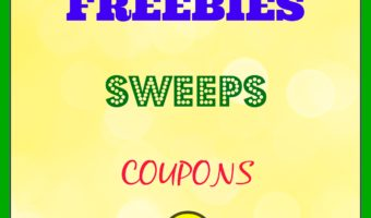 Today's Freebies – Sweeps – Coupon 1/15