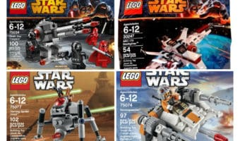May The 4th Be With You – Star Wars Legos On Sale #MayThe4thBeWithYou