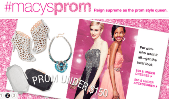 Macy's Prom Event April 16th at Clackamas Town Center #MacysProm #PDX #ad
