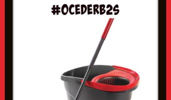 Oceder Spin Mop Review #OcederB2S
