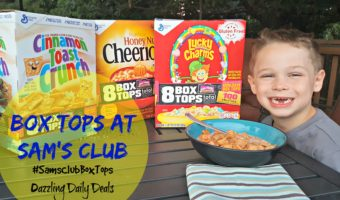 Box Tops Bonus at Sam's Club #ad #SamsClubBoxTops