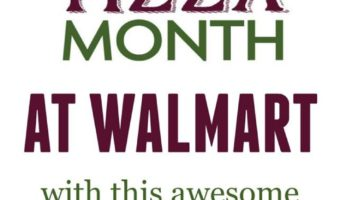 October Is Pizza Month – Get Great Deals On Mama Mary's At Walmart