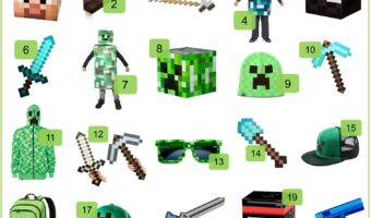 MineCraft – Toys, Treats and Costumes For Halloween