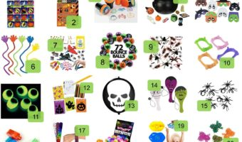 20 Non Candy Treats Kids Will Love Getting For Halloween