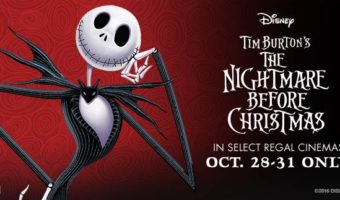 NIGHTMARE BEFORE CHRISTMAS At Select Regal Theaters Oct 28th – Oct31st
