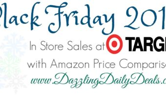 Target Black Friday Shopping List With Amazon Comparisons #Target #BlackFriday #Amazon
