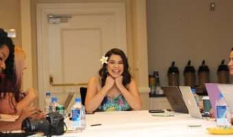 Auli'i Cravalho Interview and Her Thoughts On Being The Youngest Disney Princess Moana #MoanaEvent