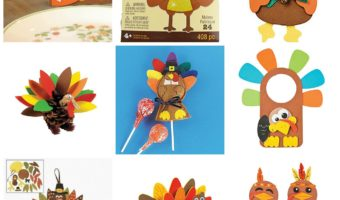 Thanksgiving Turkey Crafts #Amazon