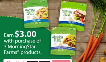 Earn $3 When you Shop MorningStar Farms® #DailyVegolutions #ad