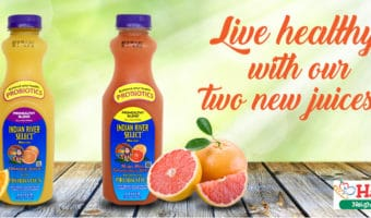 Indian River Select Brand Prohealthy Juice – Has Your Probiotic Health Needs available at Harris Teeter #ad