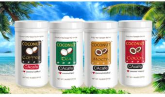 FREE CAcafe Coconut Tea and Coffee Sample