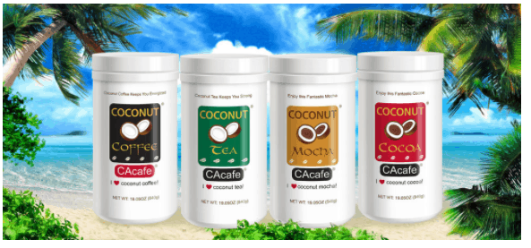 FREE CAcafe Coconut Tea and Coffee Sample