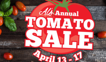 Al's Garden Center Annual Tomato Sale Starts Tomorrow