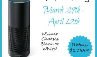 Enter To Win An Amazon Echo #AmazonEcho #Giveaway