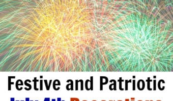 Festive and Patriotic 4th of July Decorations Found At Amazon