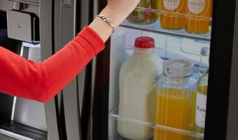 The LG's InstaView™ Door-in-Door® Refrigerator Will Change Your Life #ad
