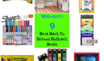 9 Best RollBack Items At Walmart For Back To School