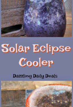 Solar Eclipse Cooler – Family Friendly Drink #SolarEclipse