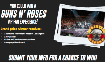 Shop Walmart For Your Next Oil Change and You Could Fly Away To See Guns N' Roses #AD #DotComDIY