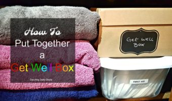 How To Put Together A Get Well Box #HappilyStocked #AD