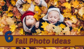 Creative Fall Photo Ideas For Your Family
