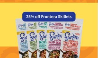 NOW Through November 25th –  Save 25% Off Frontera Skillets At Target #FronteraExperience #AD