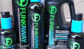 FunkAway Gets The Stink Away! #FunkAway #ad