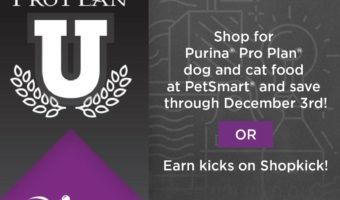 Take Advantage Of Great In-store Offers On Purina Pro Plan At PetSmart #AD #ProPlanPossibilities