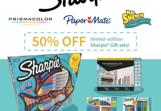 Save 50% Off Sharpie Gift Sets At Target On #BlackFriday –  #GiveColorfully #AD