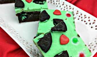Easy Grinch Brownies #Recipe