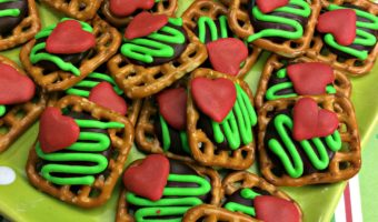 Easy Grinch Pretzels #Recipe