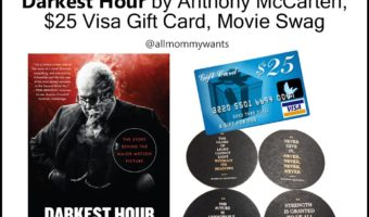 WIN A Copy Of Darkest Hour (book) And A $25 Visa Gift Card #Giveaway