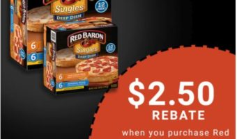 Stock Up Saving On Red Baron® Deep Dish Pizza When You Shop Sams Club And Use Ibotta #AD #RedBaronHolidaySavings