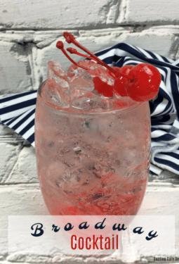 Broadway Cocktail Recipe