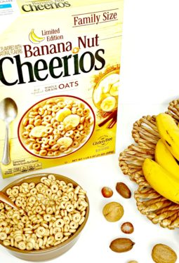 Start Back To School Off Right With General Mills Banana Nut Cheerios #AD #NewYearNewCereal